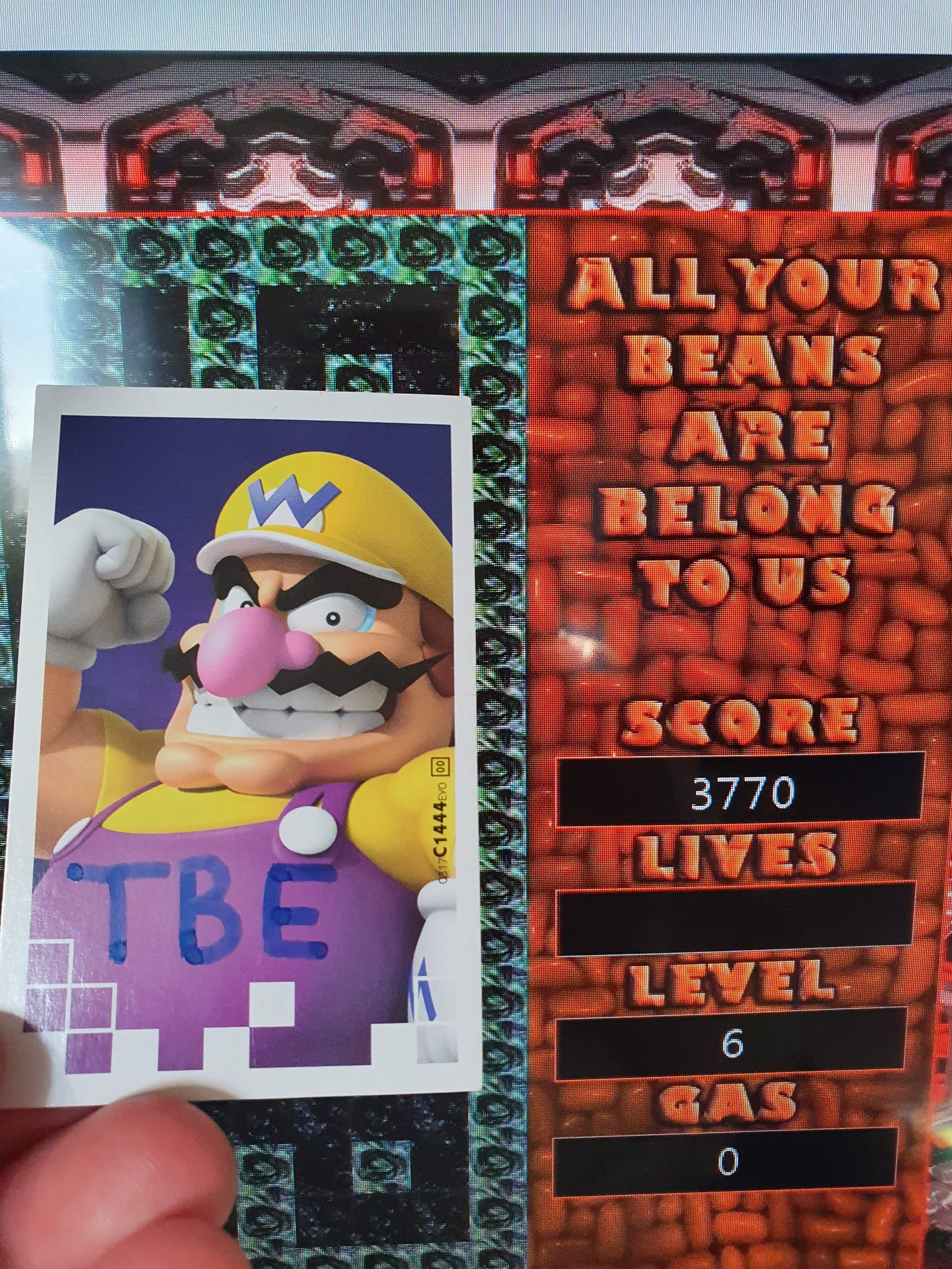 Sixx: 10 Amazingly Awful Games: All Your Beans Are Belong To Us (Xbox 360) 3,770 points on 2020-05-07 01:27:09