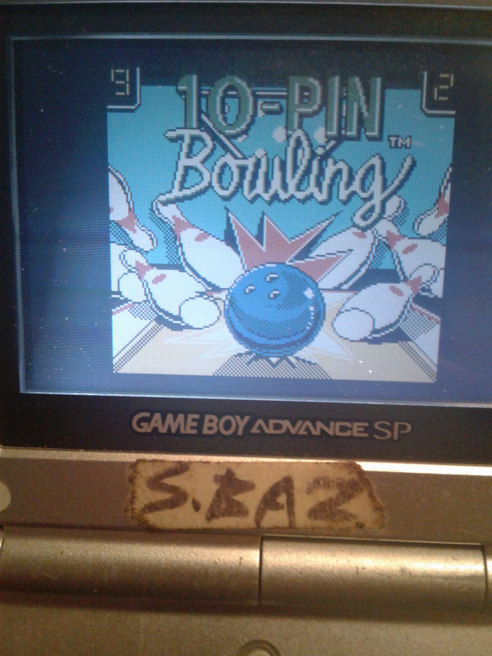 S.BAZ: 10-Pin Bowling (Game Boy Color) 81 points on 2018-12-22 18:43:22
