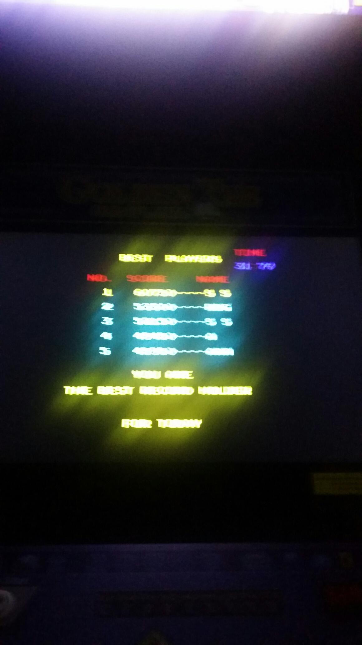SeanStewart: 10 Yard Fight (Arcade Emulated / M.A.M.E.) 60,750 points on 2017-12-20 20:57:48