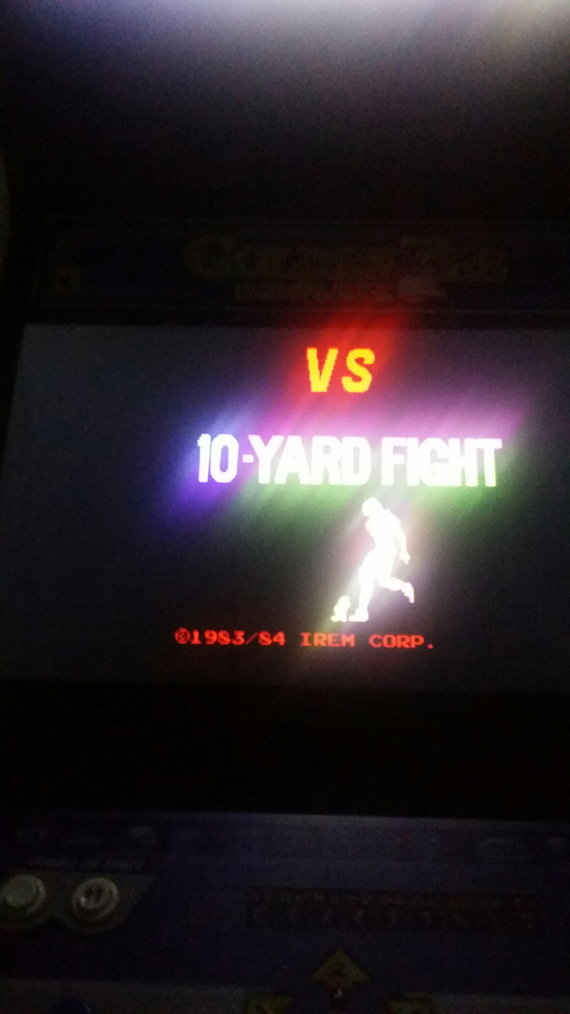 SeanStewart: 10 Yard Fight (Arcade Emulated / M.A.M.E.) 60,750 points on 2017-12-20 20:57:48
