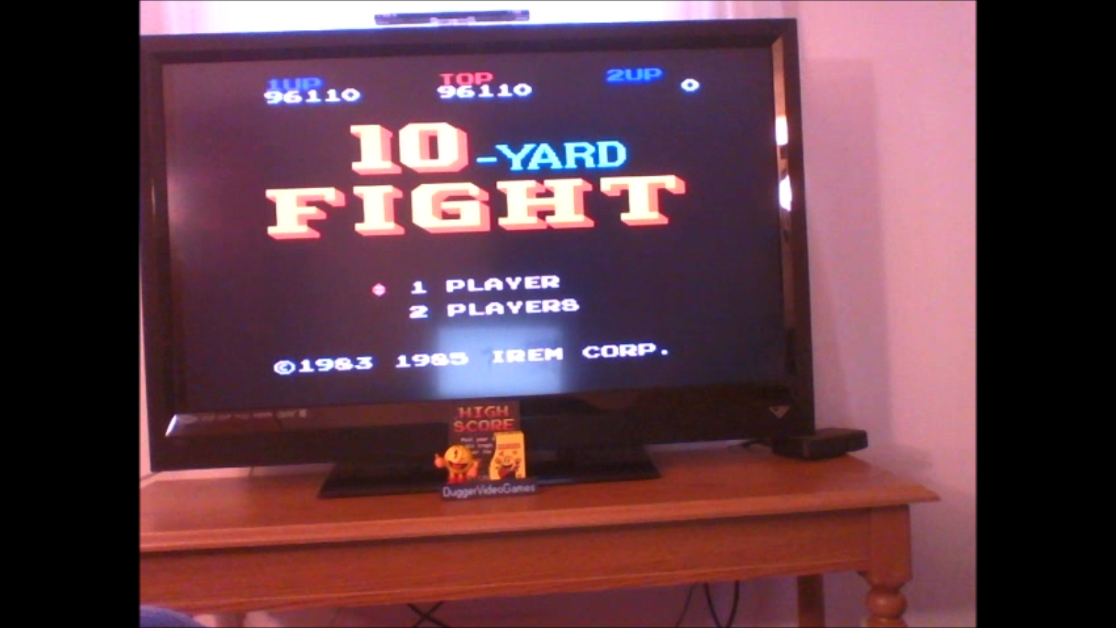 DuggerVideoGames: 10 Yard Fight (NES/Famicom Emulated) 96,110 points on 2017-01-23 07:35:32