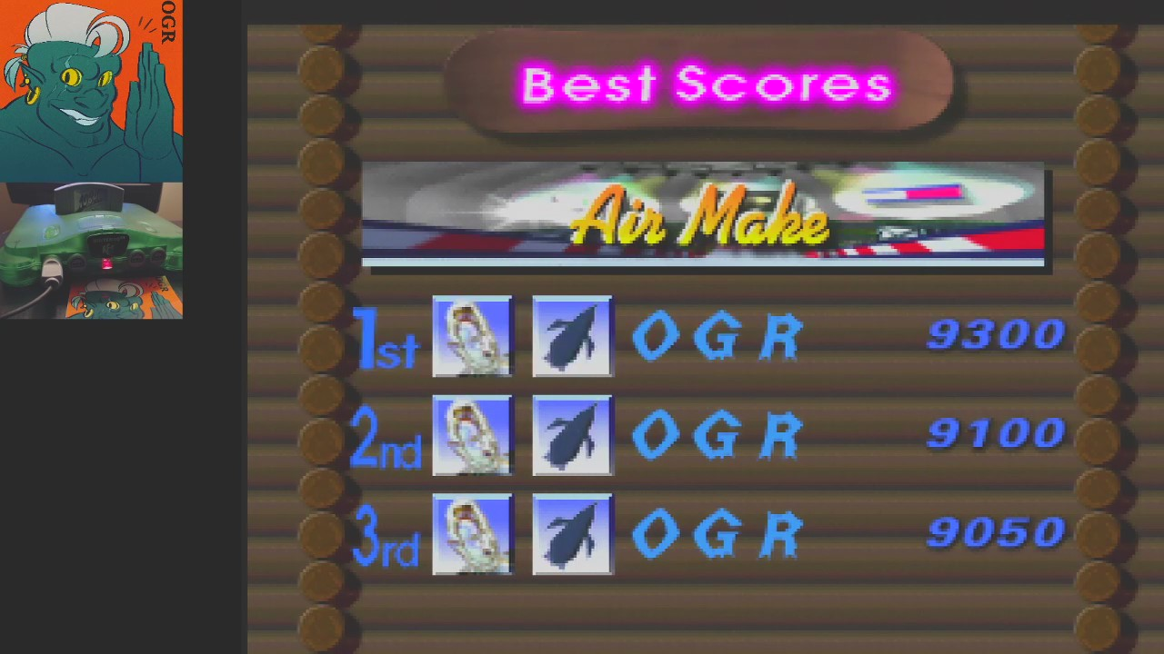 AwesomeOgre: 1080 Snowboarding: Trick: Air Make (N64) 9,300 points on 2020-04-24 04:12:55