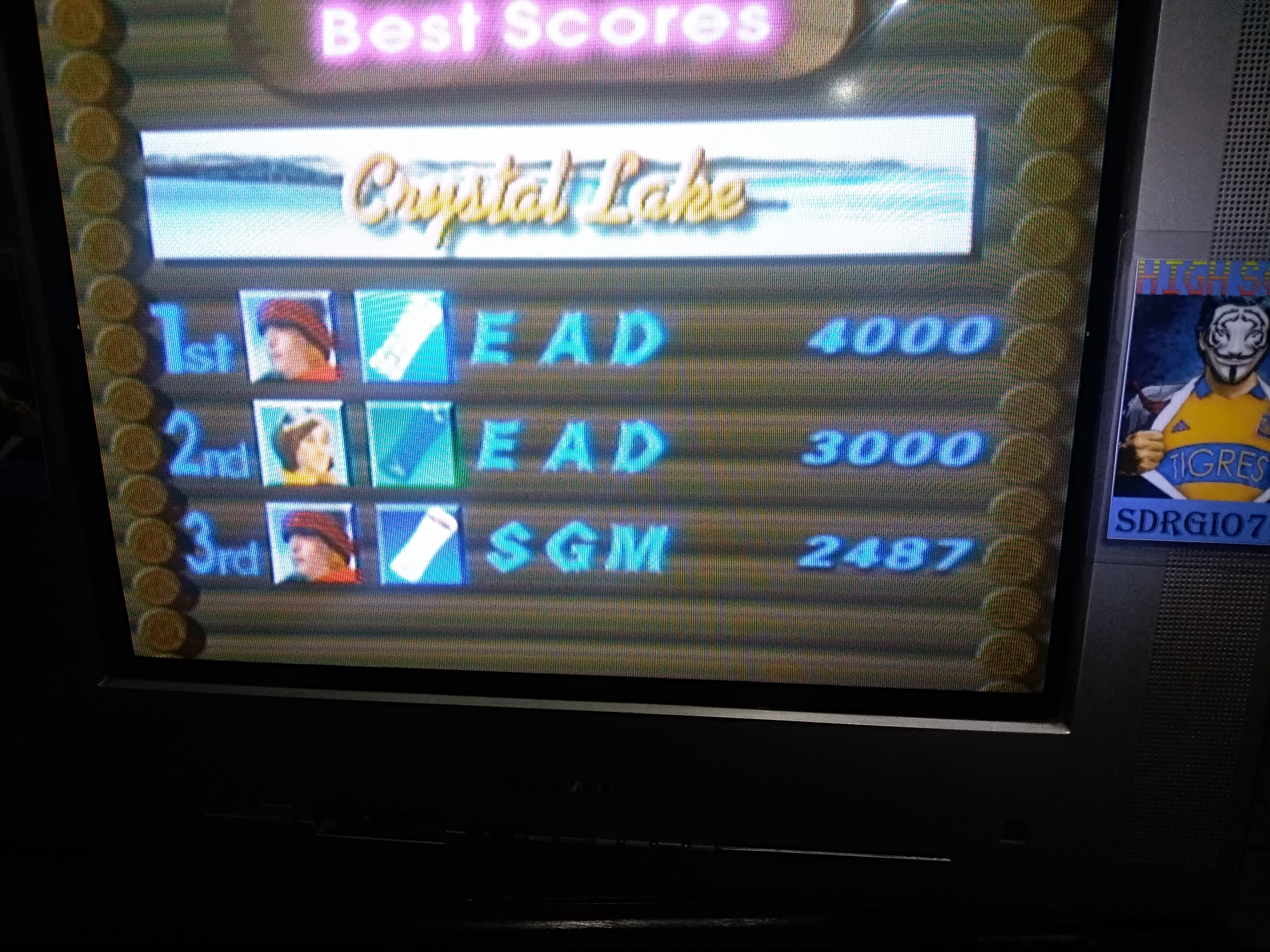 Sdrgio797: 1080 Snowboarding: Trick: Crystal Lake (N64 Emulated) 2,487 points on 2020-08-07 09:10:44
