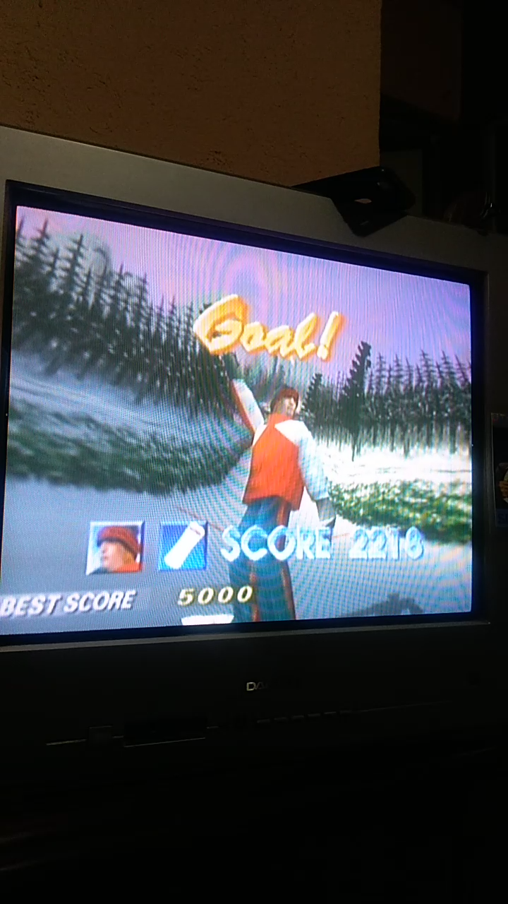 Sdrgio797: 1080 Snowboarding: Trick: Golden Forest (N64 Emulated) 2,218 points on 2020-08-07 09:32:35