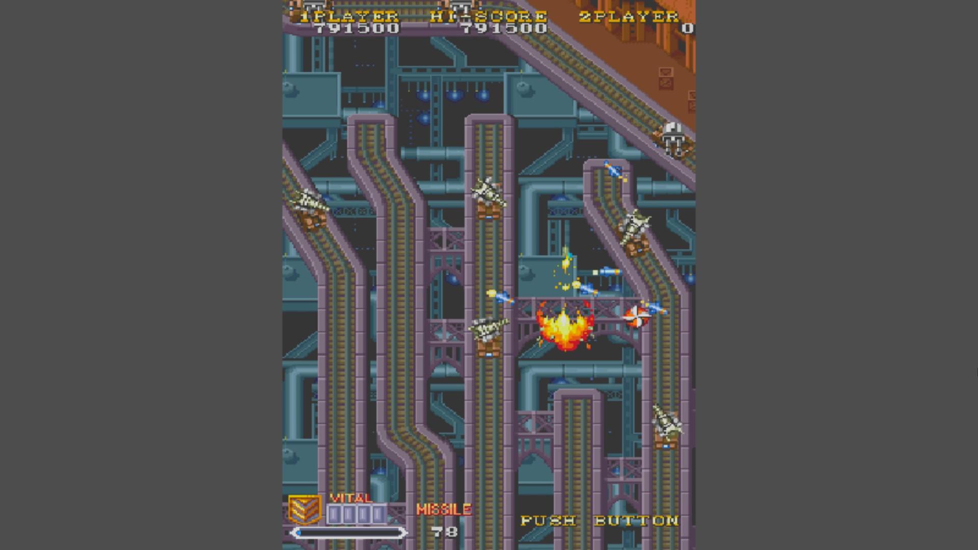 AkinNahtanoj: 1941: Counter Attack (Arcade Emulated / M.A.M.E.) 791,500 points on 2020-09-29 10:31:40
