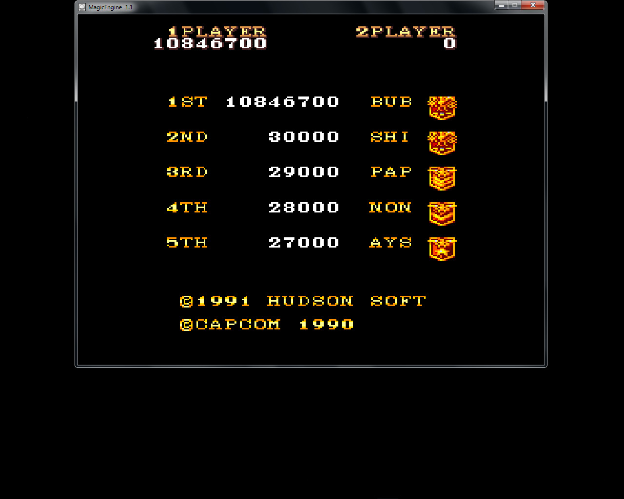 bubufubu: 1941: Counter Attack (TurboGrafx-16/PC Engine Emulated) 10,846,700 points on 2015-08-13 17:56:08