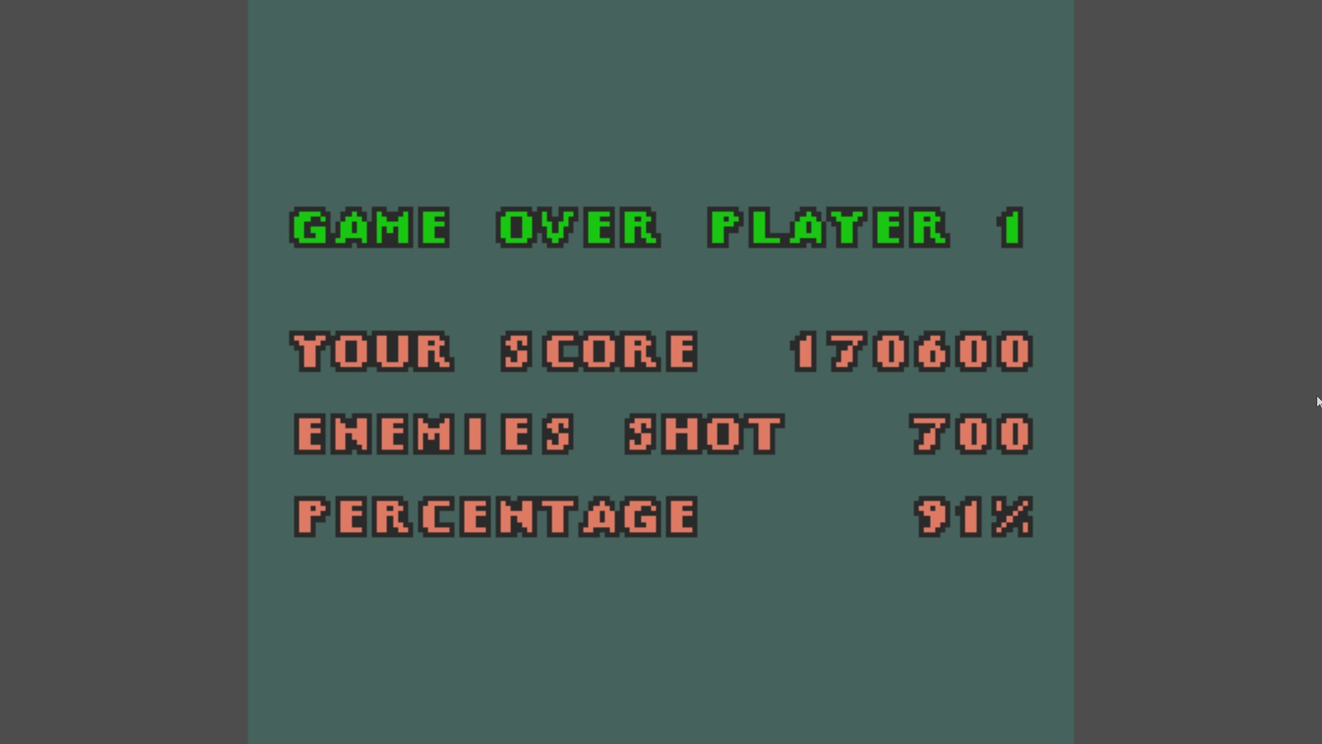 AkinNahtanoj: 1942 (Game Boy Color Emulated) 170,600 points on 2020-12-28 03:58:24
