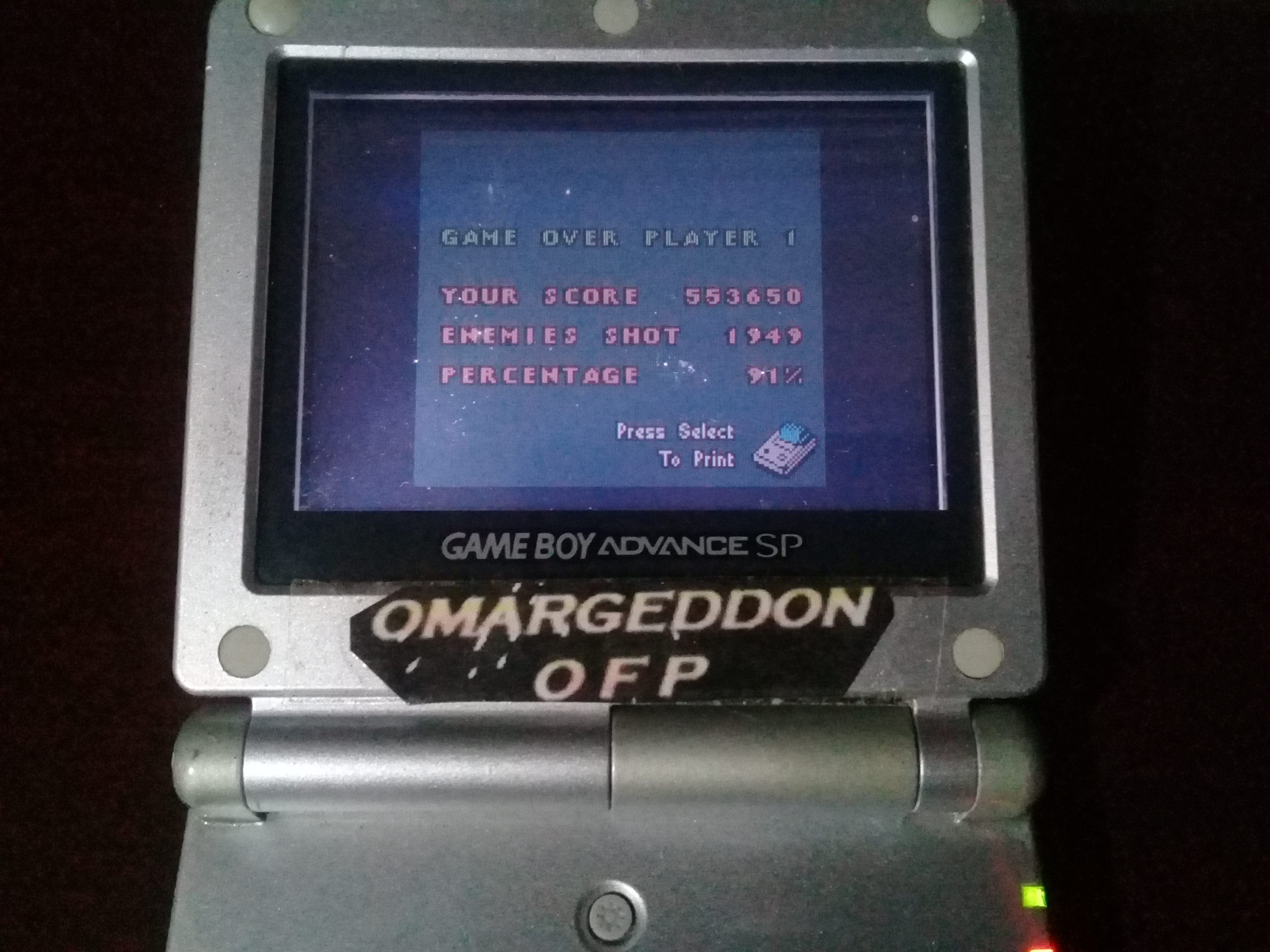 omargeddon: 1942 (Game Boy Color) 553,650 points on 2019-04-03 22:23:11