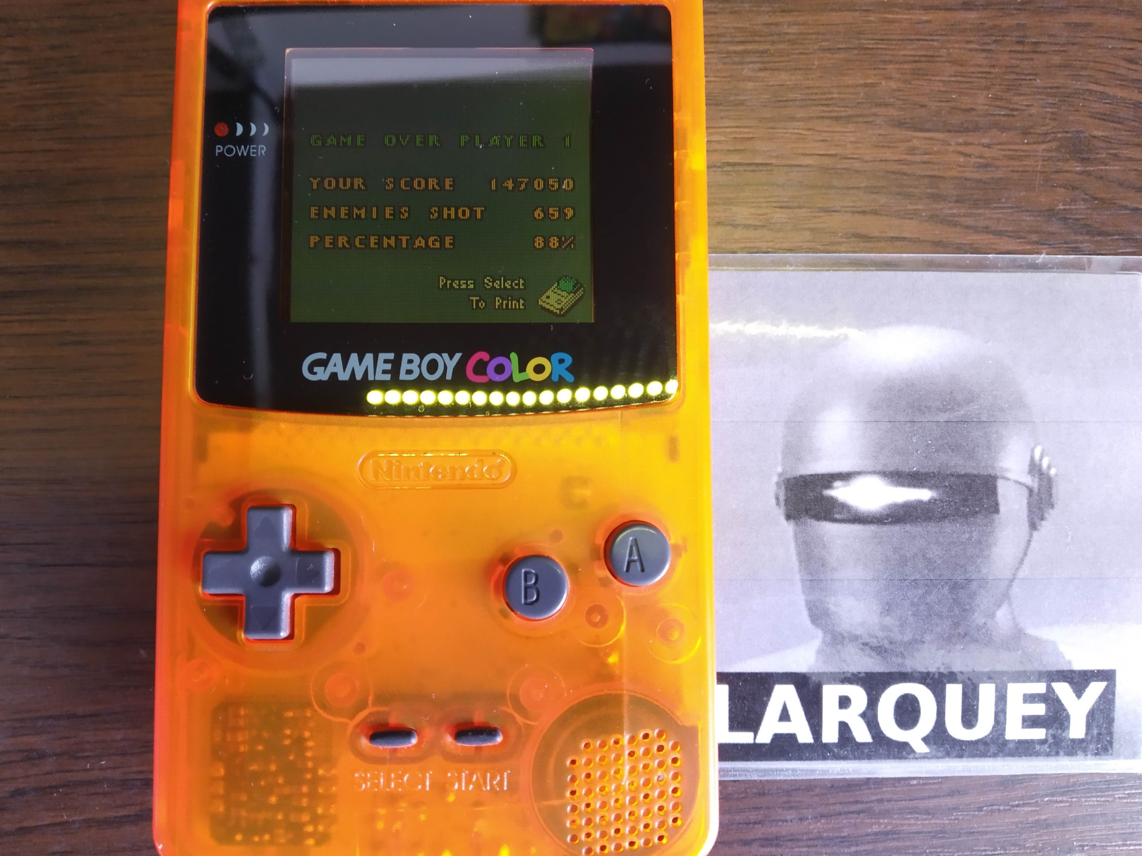 Larquey: 1942 (Game Boy Color) 147,050 points on 2019-08-16 12:08:28