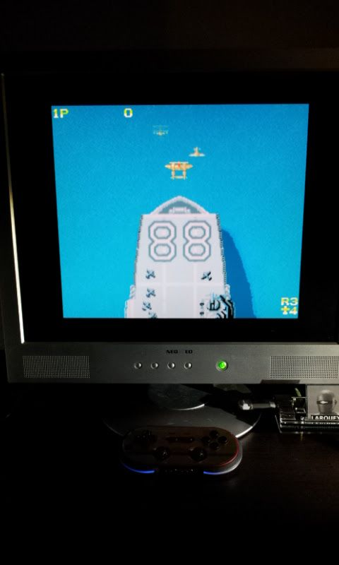 Larquey: 1942 [MSX2] (MSX Emulated) 75,440 points on 2017-01-23 14:46:26