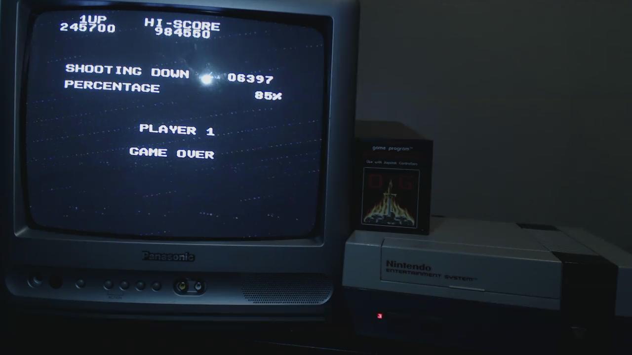 OriginalGamer: 1942 (NES/Famicom) 1,245,700 points on 2015-11-23 19:35:23