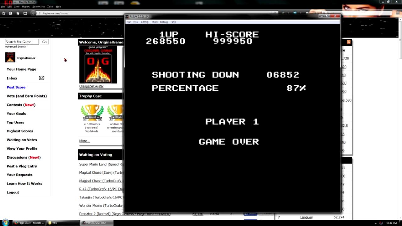 OriginalGamer: 1942 (NES/Famicom Emulated) 1,268,550 points on 2015-11-23 19:39:53