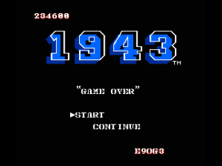 KillerPancake: 1943 (NES/Famicom Emulated) 234,600 points on 2016-08-09 03:14:18
