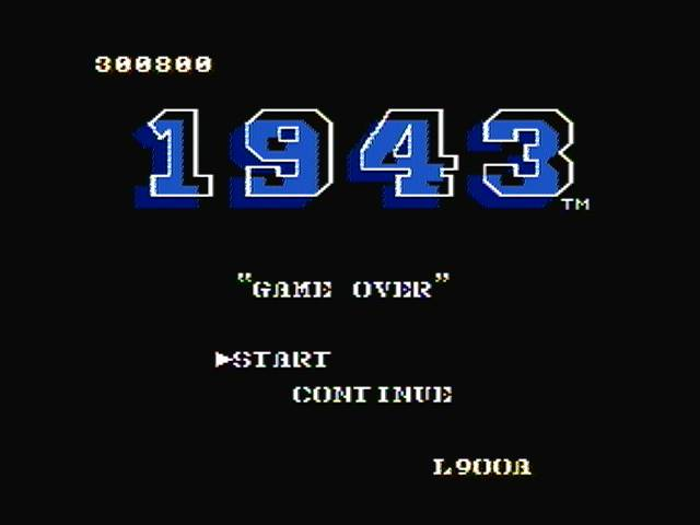 1943 300,800 points