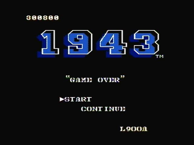derek: 1943 (NES/Famicom) 300,800 points on 2016-11-07 13:23:37
