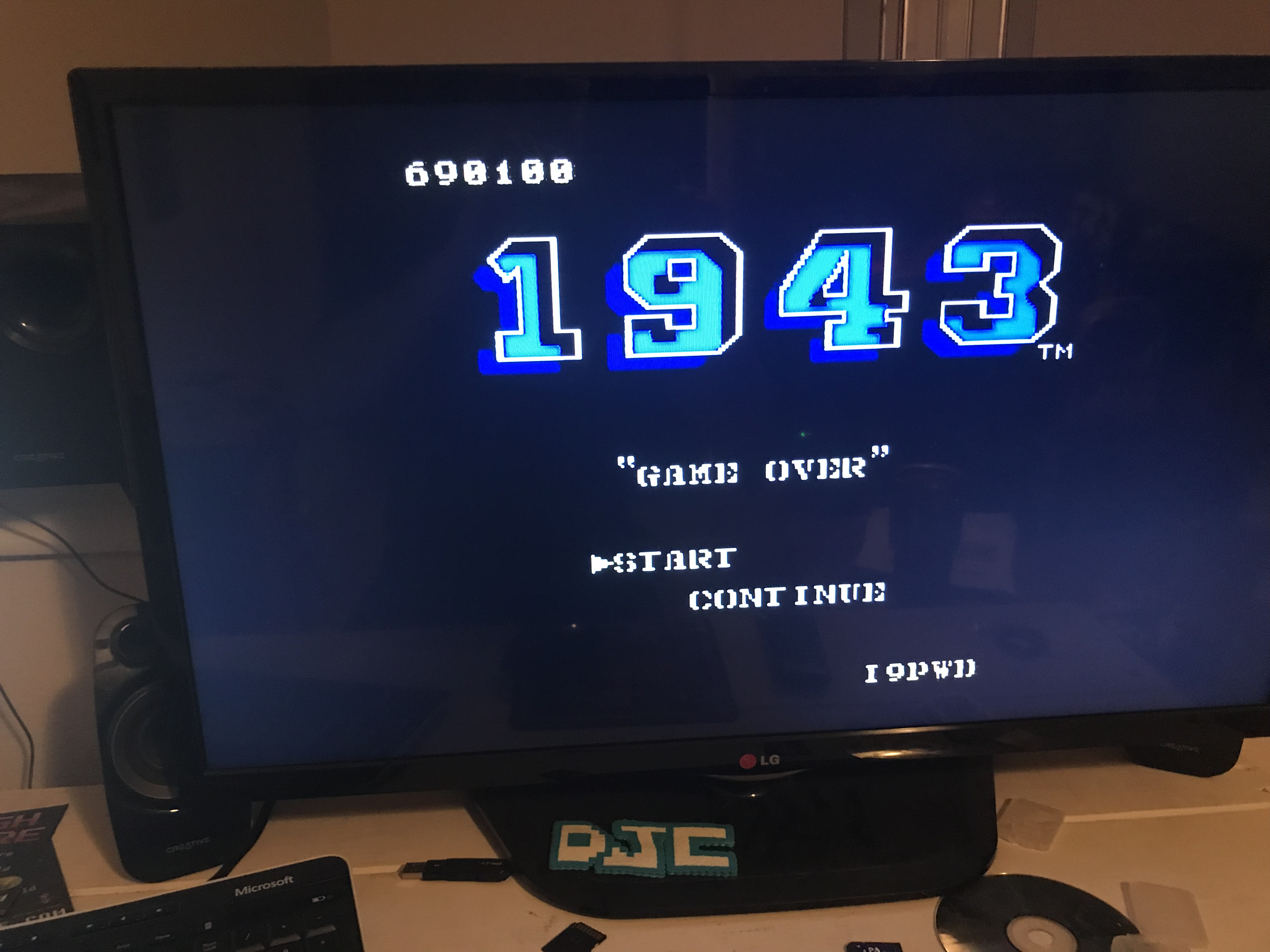 derek: 1943 (NES/Famicom) 690,100 points on 2018-02-05 20:46:56