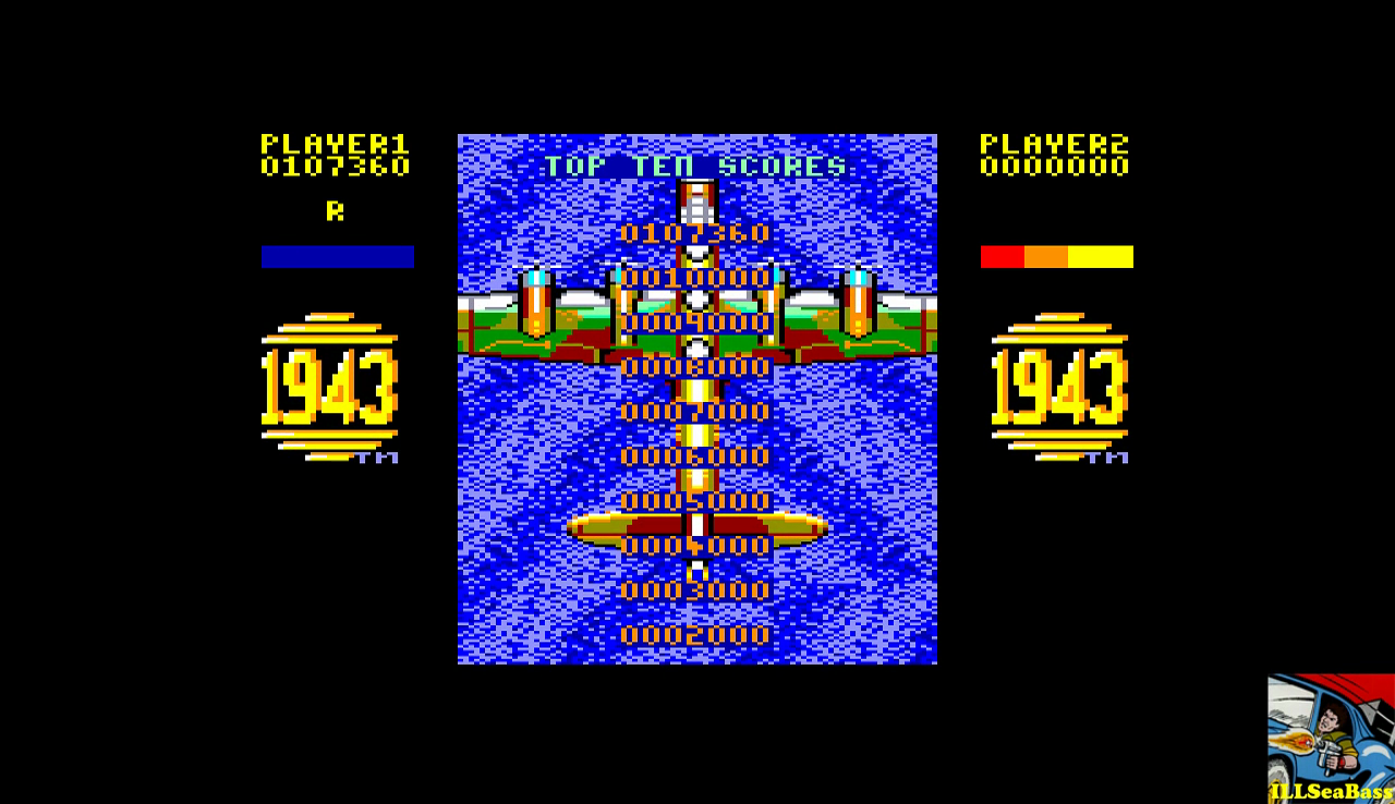 ILLSeaBass: 1943: The Battle Of Midway (Amstrad CPC Emulated) 107,360 points on 2016-12-26 21:50:07