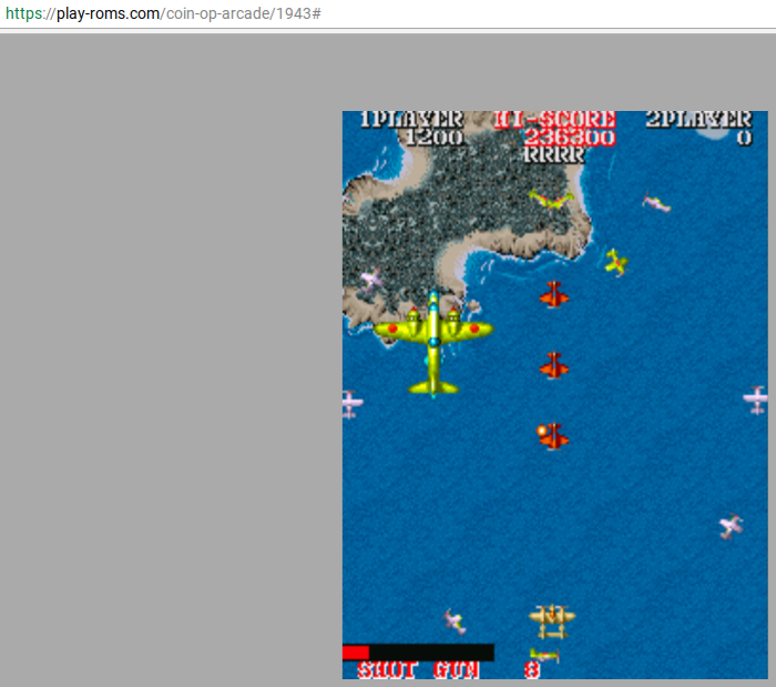 LordTiki: 1943: The Batttle Of Midway [1943b] (Arcade Emulated / M.A.M.E.) 236,300 points on 2017-08-08 17:19:10