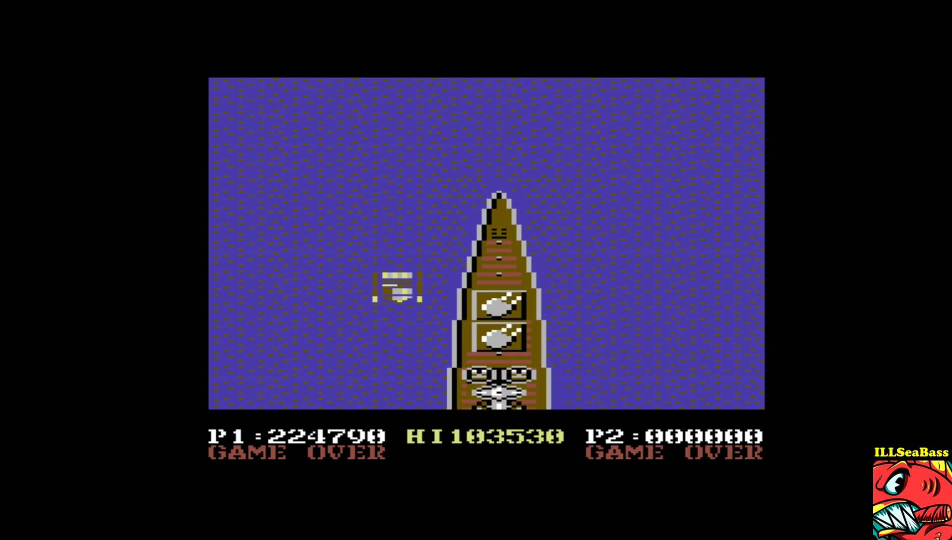 ILLSeaBass: 1943: The Batttle Of Midway (Commodore 64 Emulated) 224,790 points on 2017-04-17 21:10:30