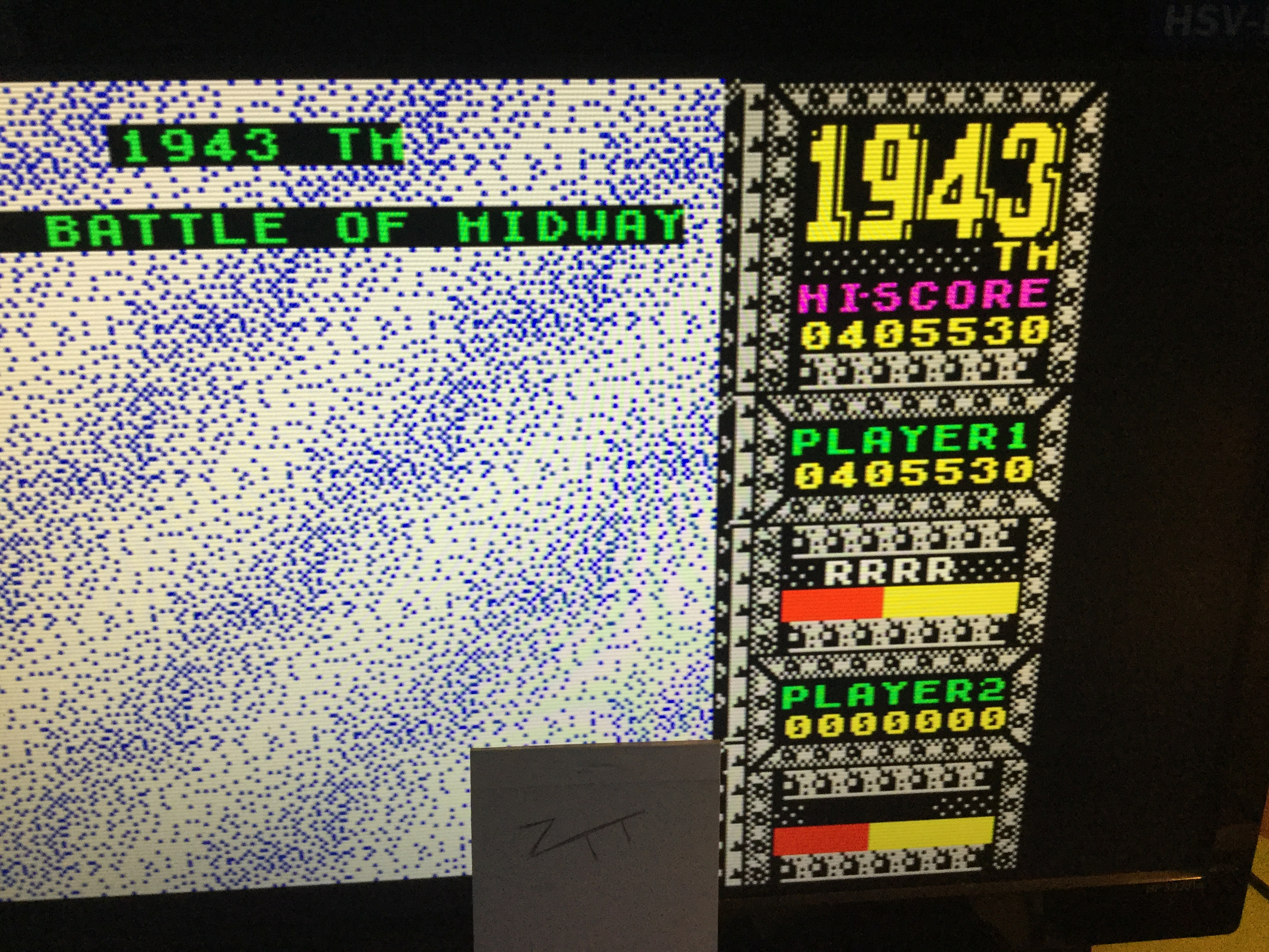 Frankie: 1943 (ZX Spectrum Emulated) 405,530 points on 2017-07-15 14:57:24