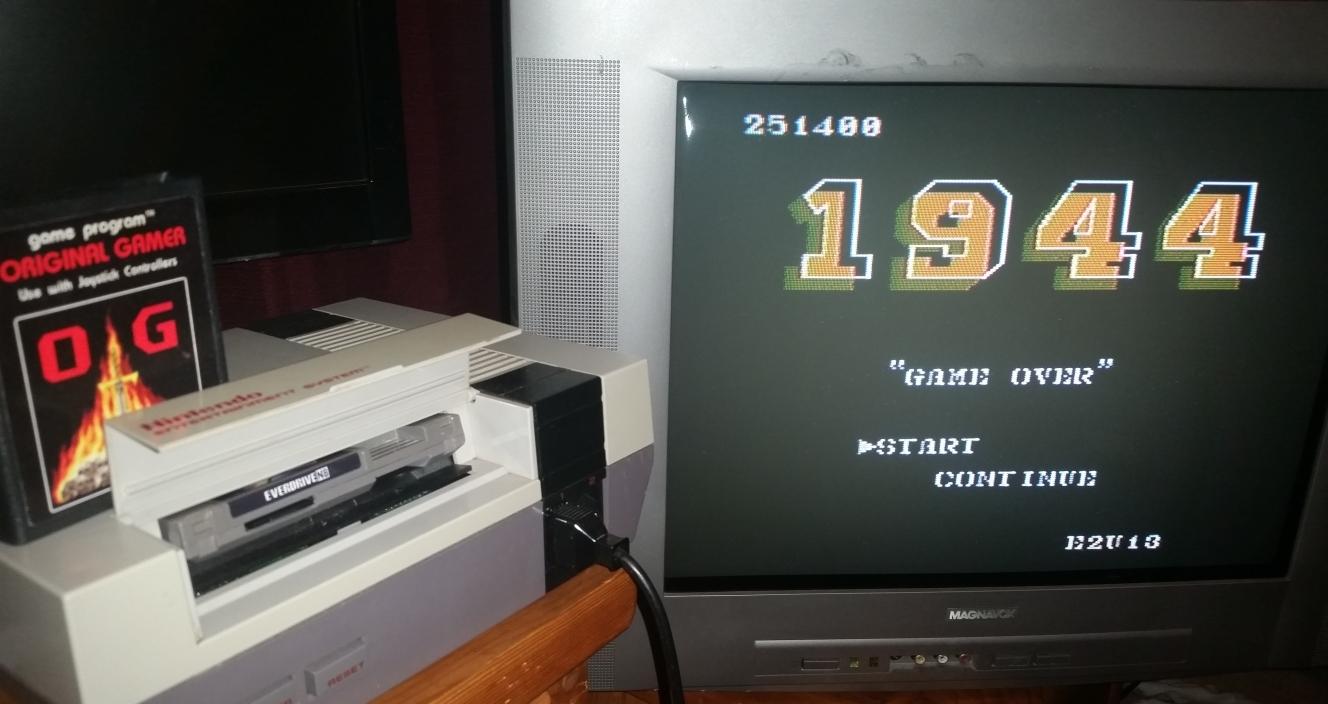 OriginalGamer: 1944 (NES/Famicom) 251,400 points on 2016-08-24 02:48:07