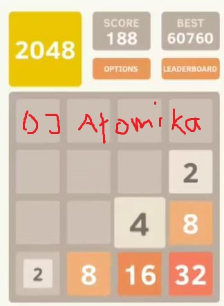 DJAtomika: 2048 (Android) 60,760 points on 2018-05-08 14:57:44