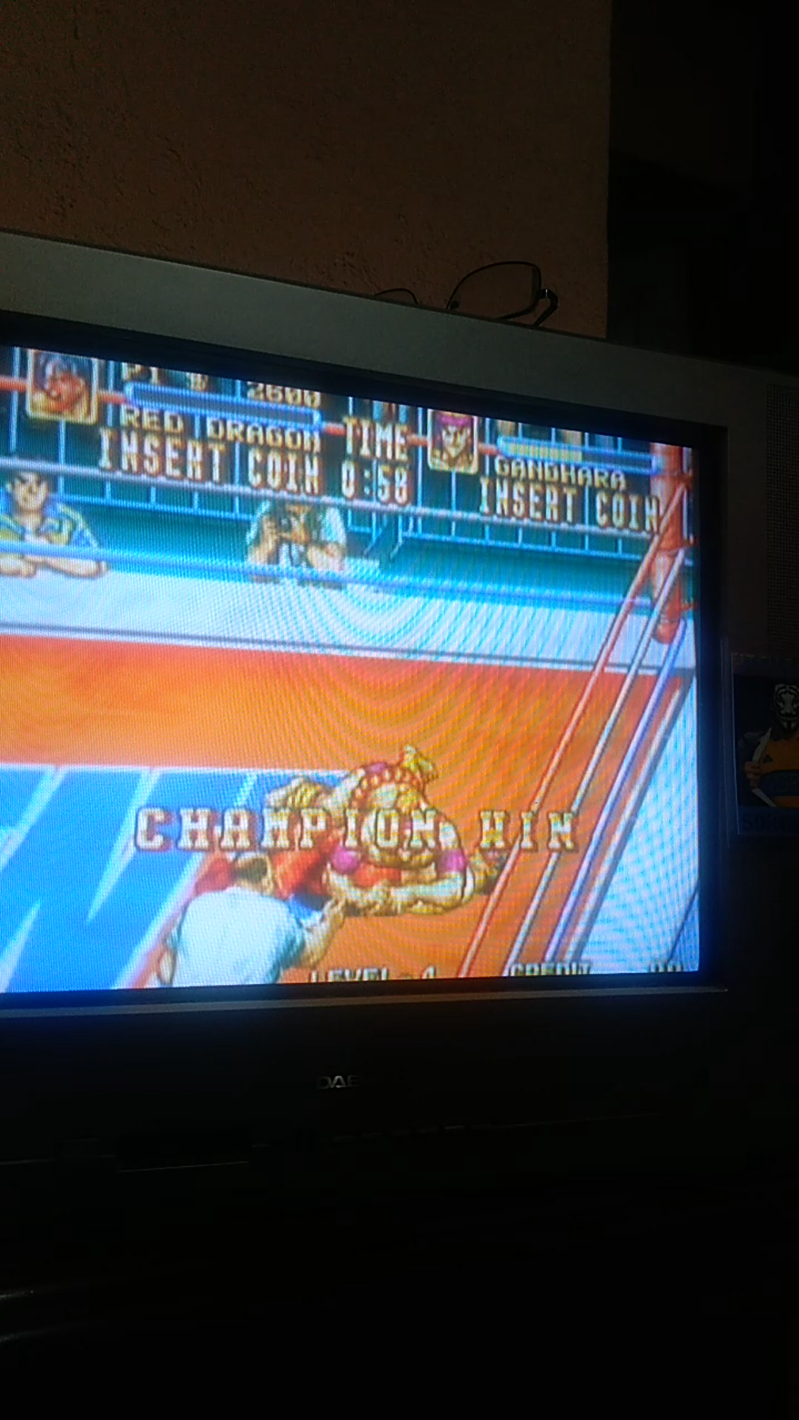 Sdrgio797: 3 Count Bout / Fire Suplex (Neo Geo Emulated) 2,600 points on 2020-08-05 18:05:39
