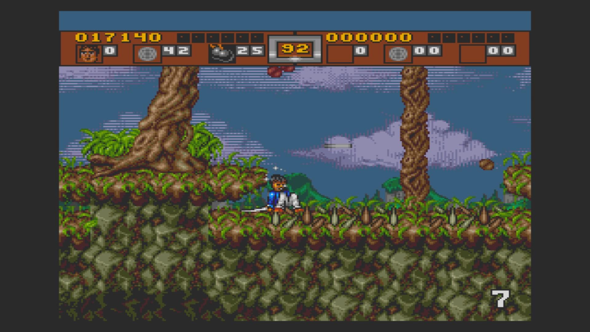 AkinNahtanoj: 3 Ninjas Kick Back (Sega Genesis / MegaDrive Emulated) 17,140 points on 2020-10-28 13:53:23