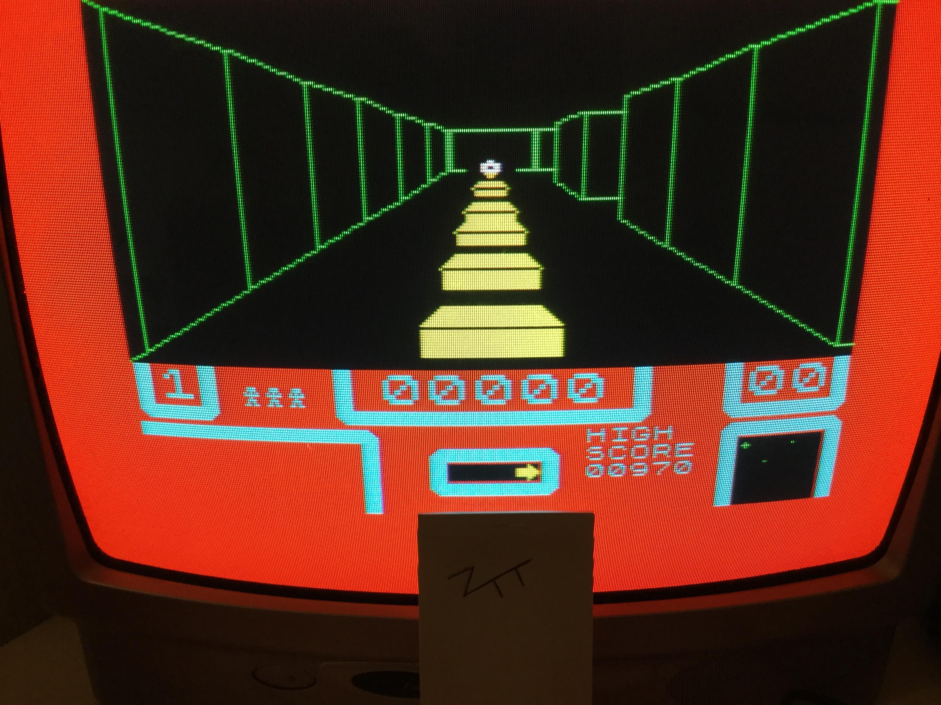 Frankie: 3D Bat Attack [Level 3 / Bats 2] (ZX Spectrum) 970 points on 2017-12-30 05:51:52