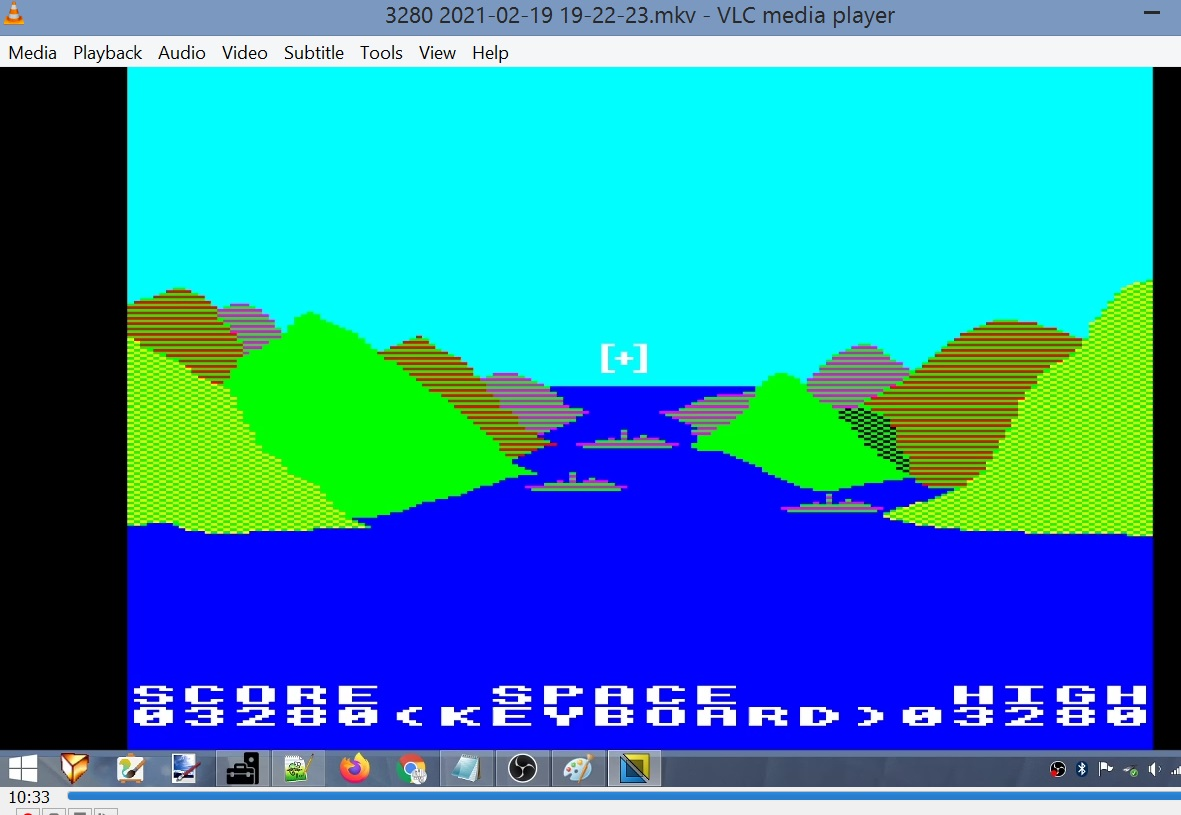 LuigiRuffolo: 3D Bomb Alley (BBC Micro Emulated) 3,280 points on 2021-02-19 13:10:15