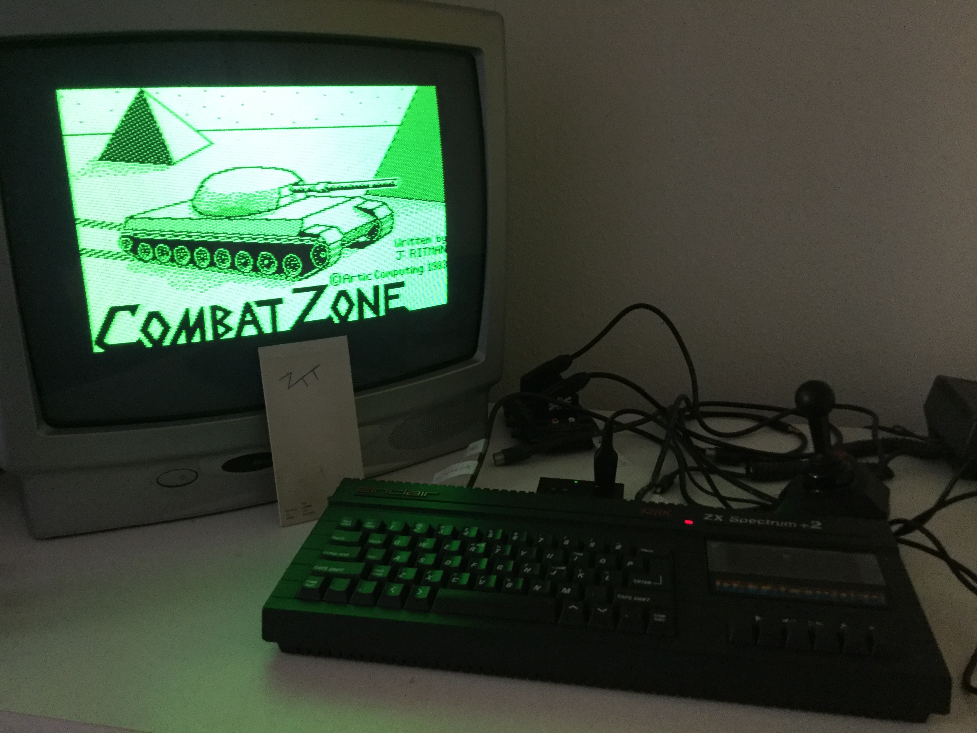 Frankie: 3D Combat Zone [Artic Computing] (ZX Spectrum) 1,000 points on 2019-05-05 11:44:14