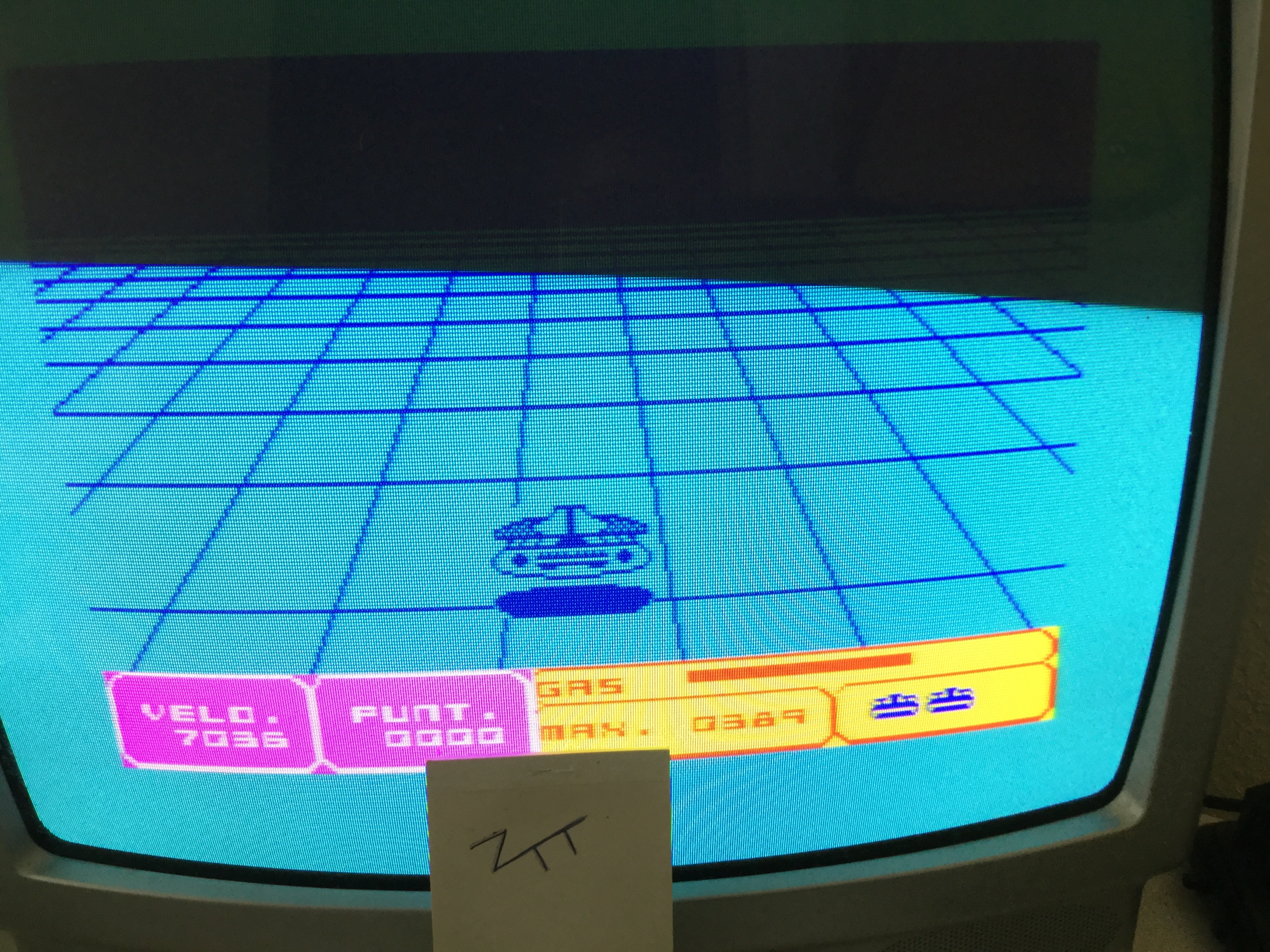 Frankie: 3D-Interceptor (ZX Spectrum) 389 points on 2017-05-28 03:44:14