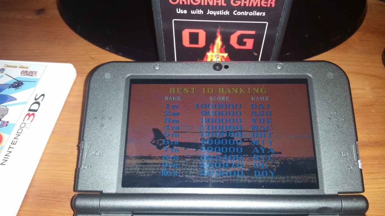 OriginalGamer: 3D Thunder Blade (Nintendo 3DS) 260,970 points on 2016-06-26 19:27:34