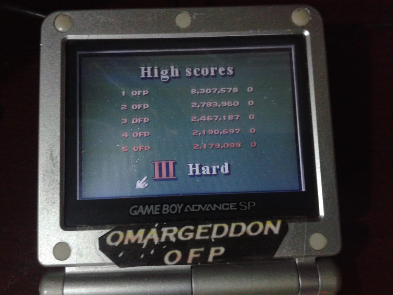 omargeddon: 3D Ultra Pinball Thrillride: Hard (Game Boy Color) 8,307,578 points on 2018-08-05 03:12:44