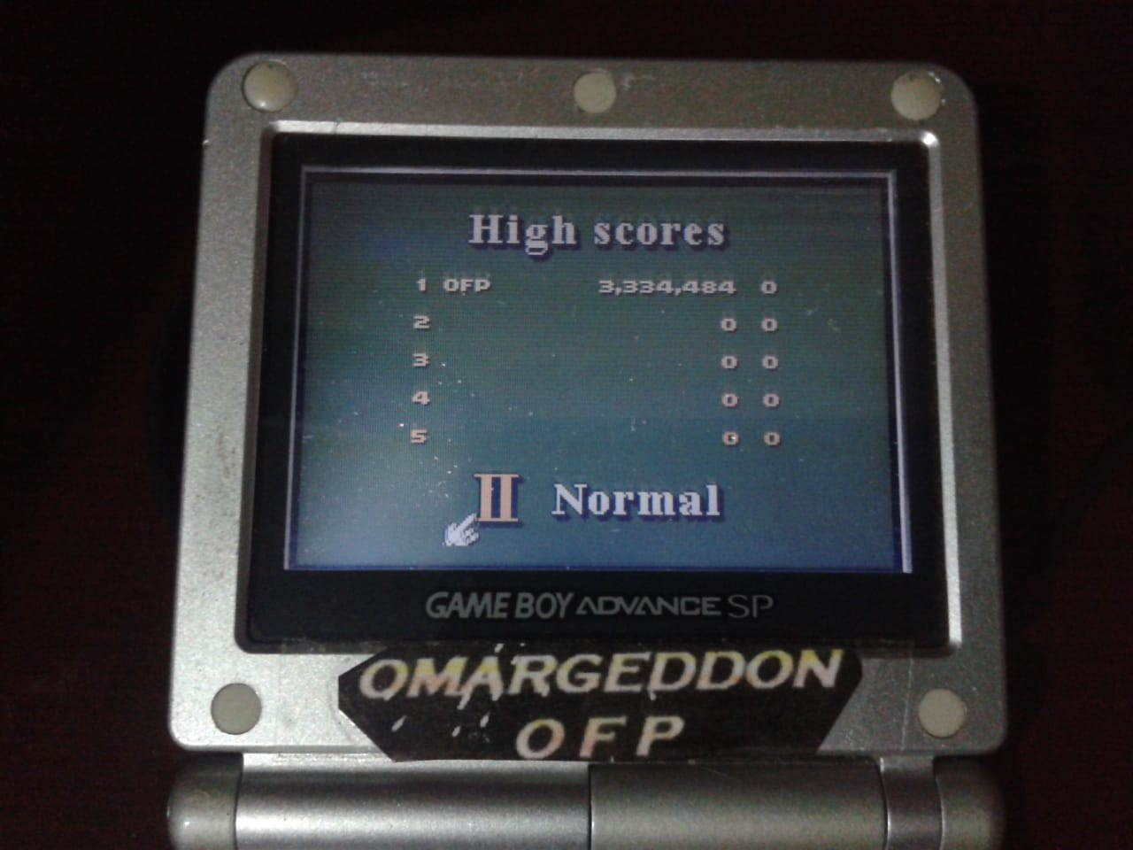 omargeddon: 3D Ultra Pinball Thrillride: Normal (Game Boy Color) 3,334,484 points on 2018-08-05 01:22:24