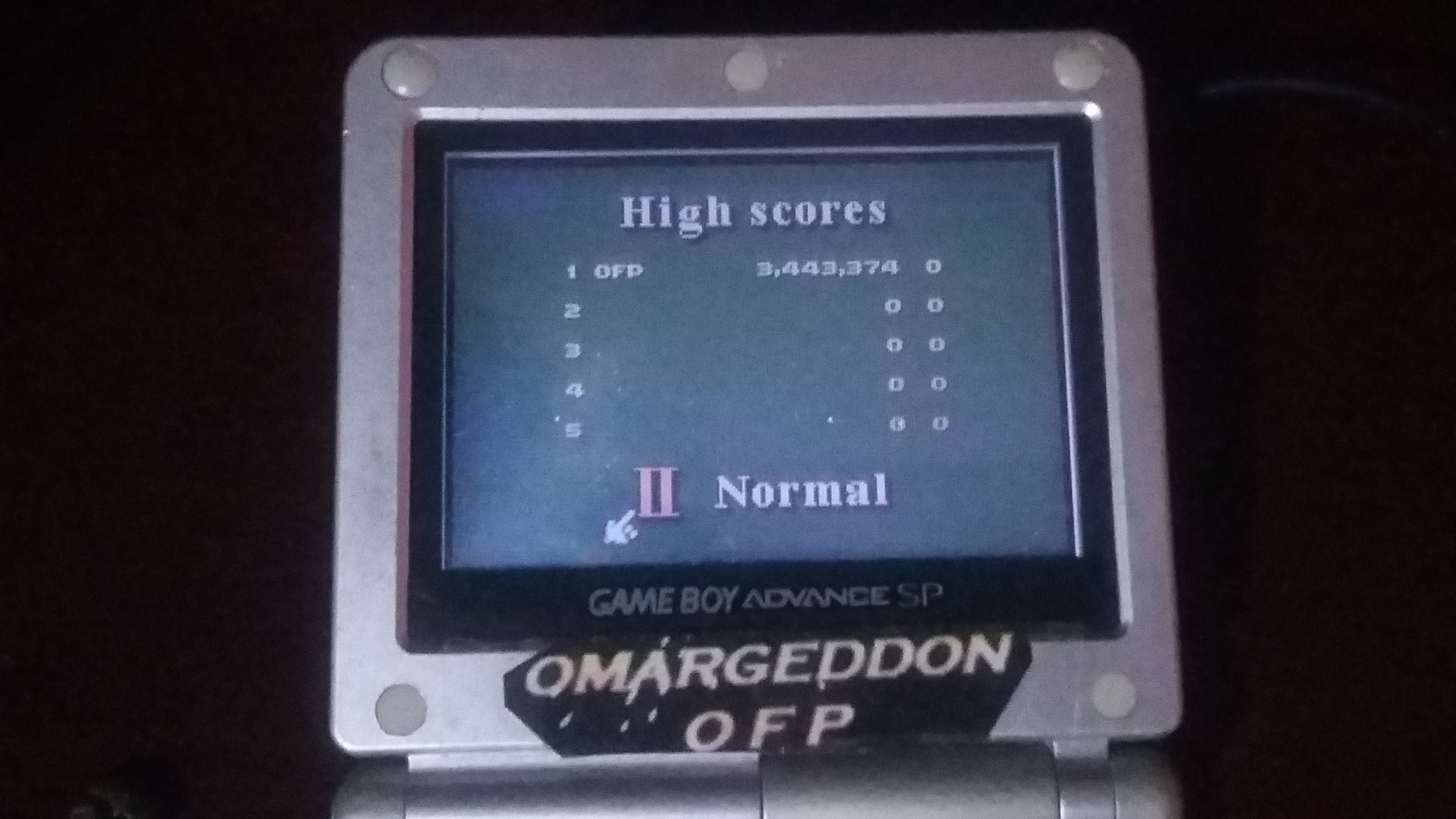 omargeddon: 3D Ultra Pinball Thrillride: Normal (Game Boy Color) 3,443,374 points on 2018-09-23 16:36:59