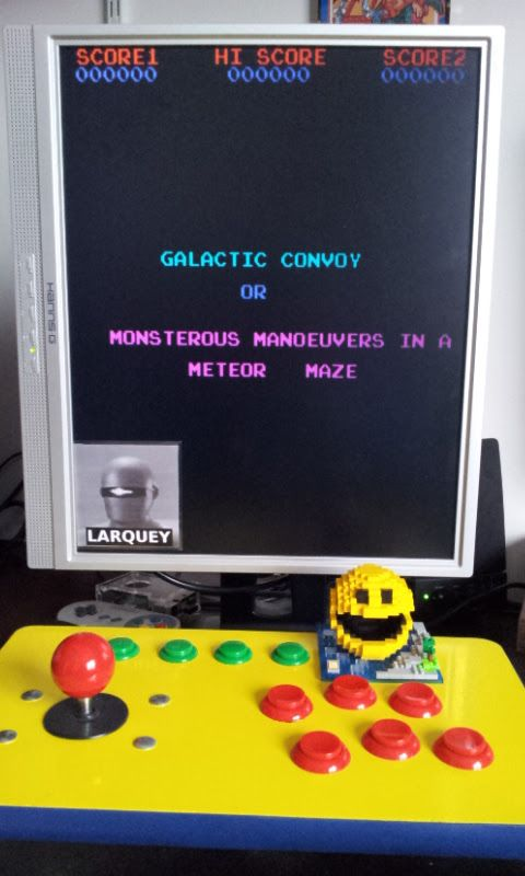 Larquey: 4 Fun in 1: Galactic Convoy [4in1] (Arcade Emulated / M.A.M.E.) 40,480 points on 2017-03-03 06:37:03