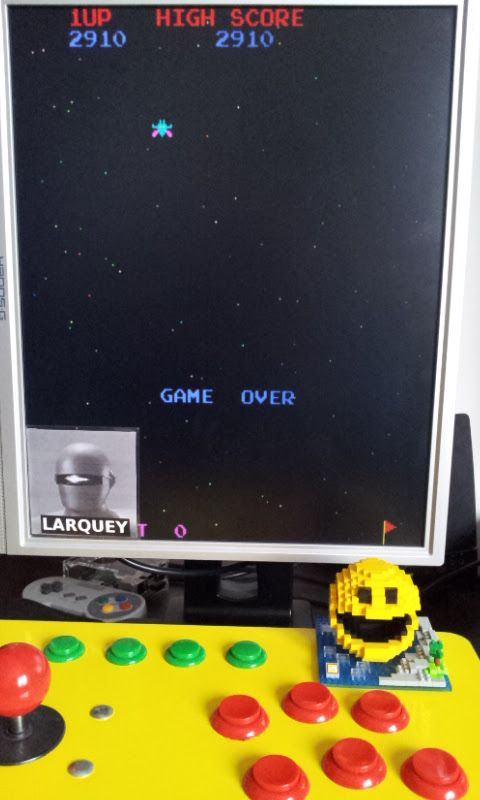 Larquey: 4 Fun in 1: Galaxian Pt5 [4in1] (Arcade Emulated / M.A.M.E.) 2,910 points on 2017-03-03 07:11:49