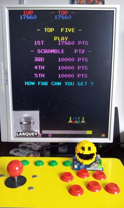 Larquey: 4 Fun in 1: Scramble Pt2 [4in1] (Arcade Emulated / M.A.M.E.) 17,860 points on 2017-03-03 07:08:42