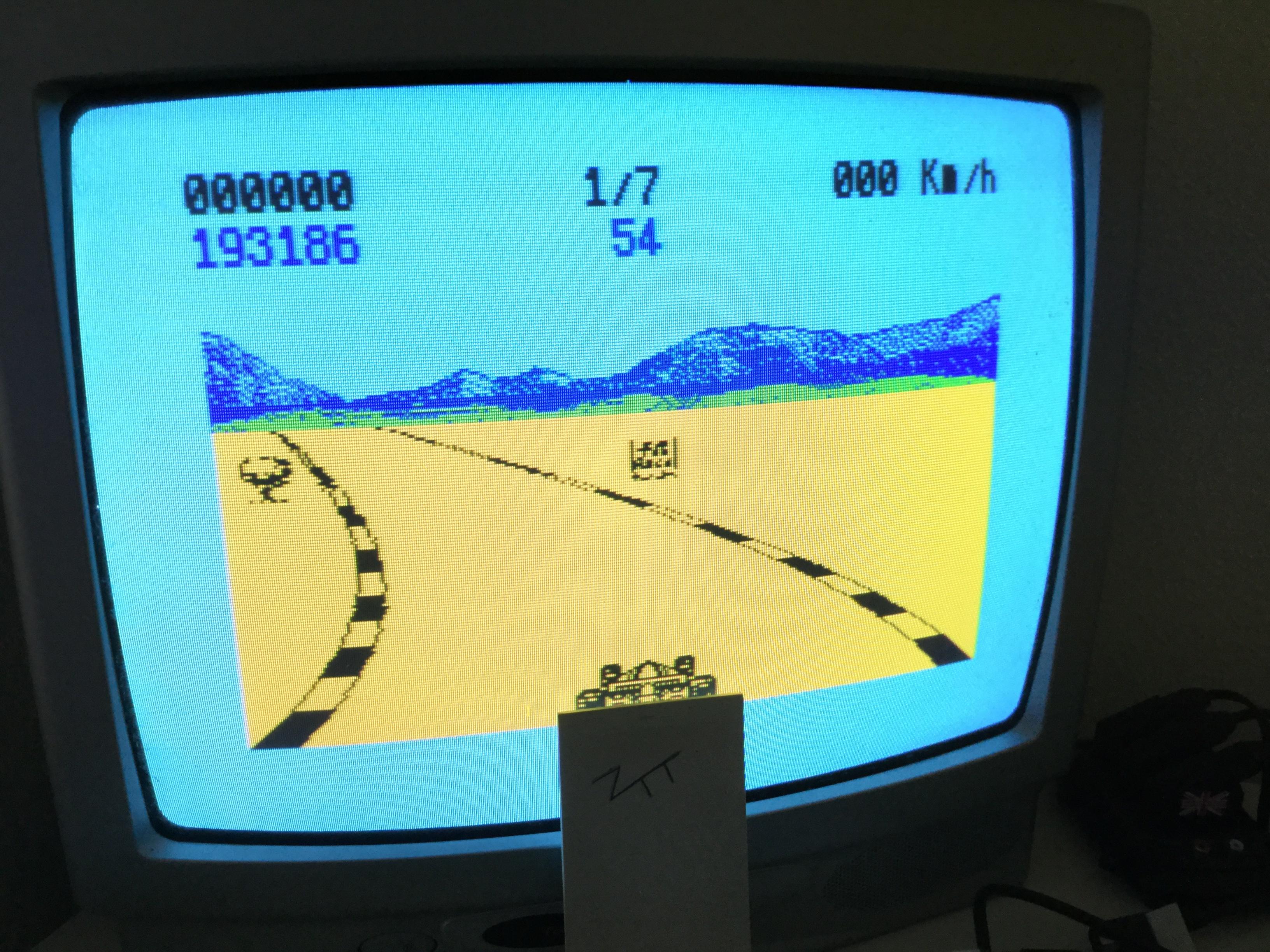 Frankie: 4K Race Refueled (ZX Spectrum) 193,186 points on 2017-05-28 07:18:10