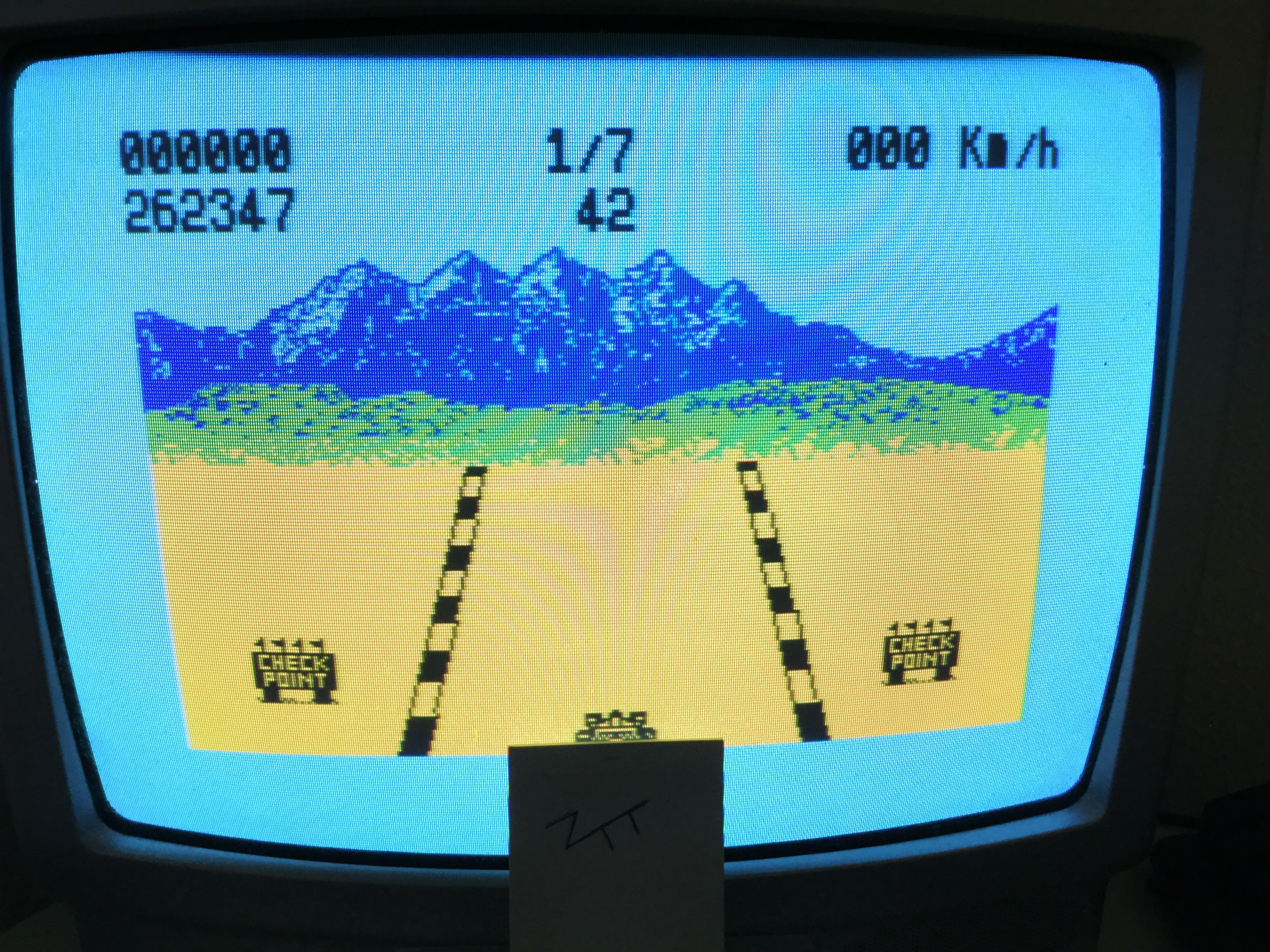 Frankie: 4K Race (ZX Spectrum) 262,347 points on 2017-05-28 07:10:27