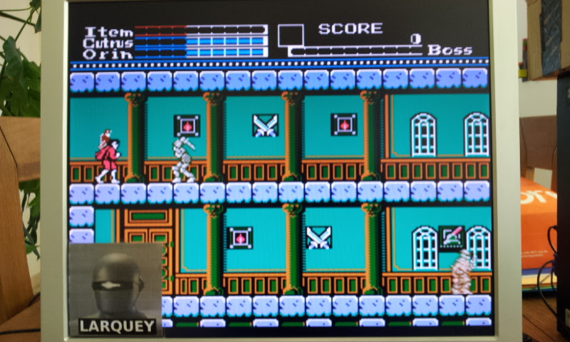 Larquey: 8 Eyes (NES/Famicom Emulated) 27,450 points on 2017-04-21 07:54:33