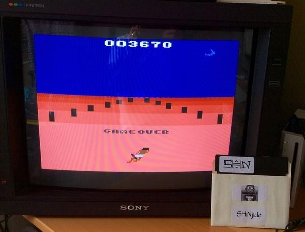 SHiNjide: A-VCS-tec Challenge (Atari 2600 Emulated Novice/B Mode) 3,670 points on 2015-06-20 08:39:39