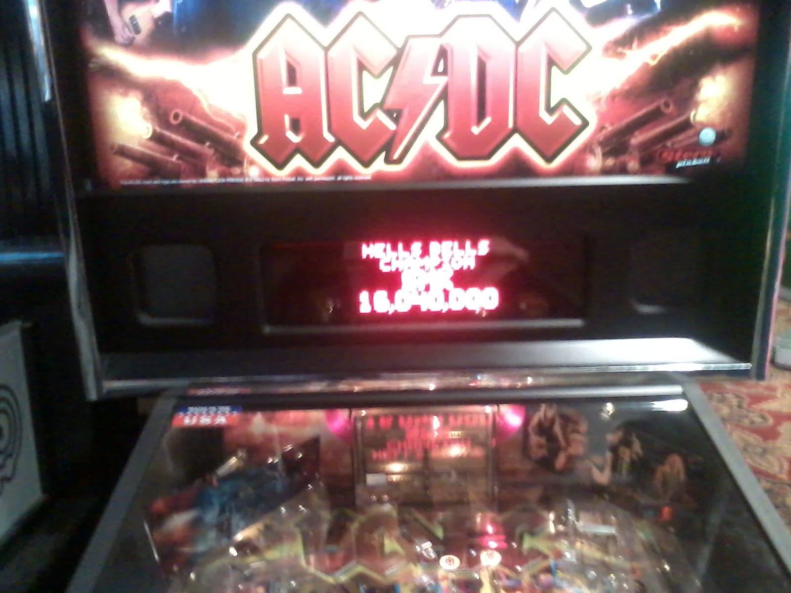 AC/DC: Hells Bells 16,040,000 points