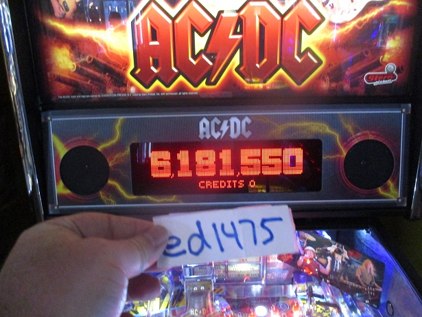 ed1475: AC/DC (Pinball: 3 Balls) 6,181,550 points on 2017-08-24 19:40:50