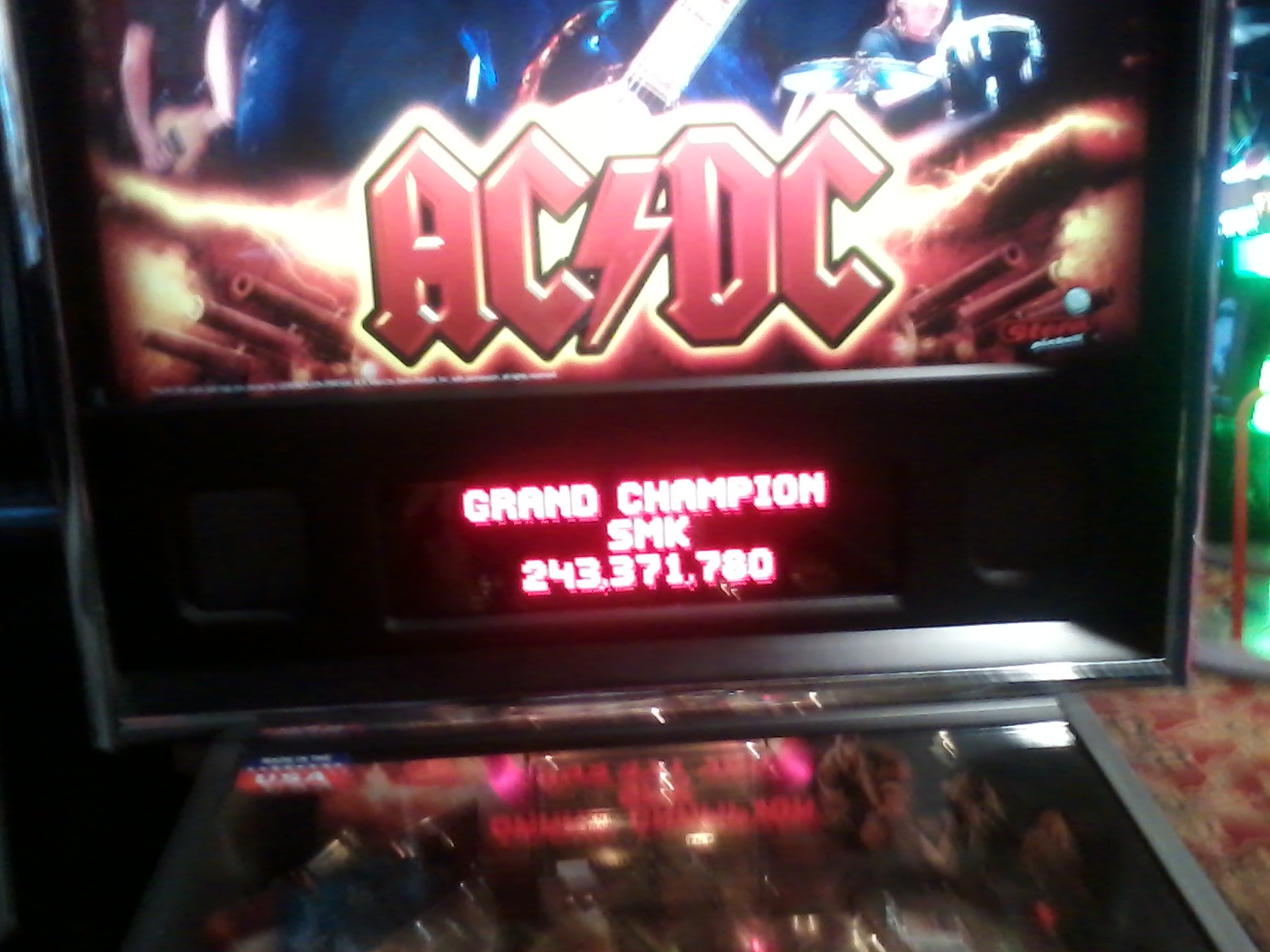 TheGalagaKing: AC/DC (Pinball: 3 Balls) 243,371,780 points on 2019-03-08 21:39:41