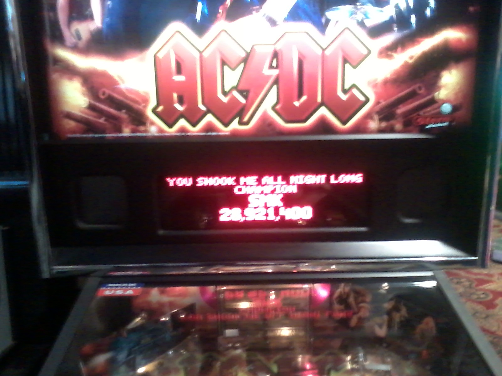 TheGalagaKing: AC/DC: You Shook Me All Night Long (Pinball Bonus Mode) 28,921,400 points on 2019-03-08 21:43:26