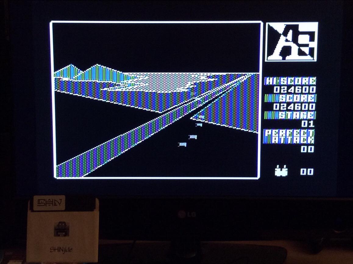SHiNjide: A.E. (5200) (Atari 400/800/XL/XE) 24,600 points on 2015-10-19 12:39:46