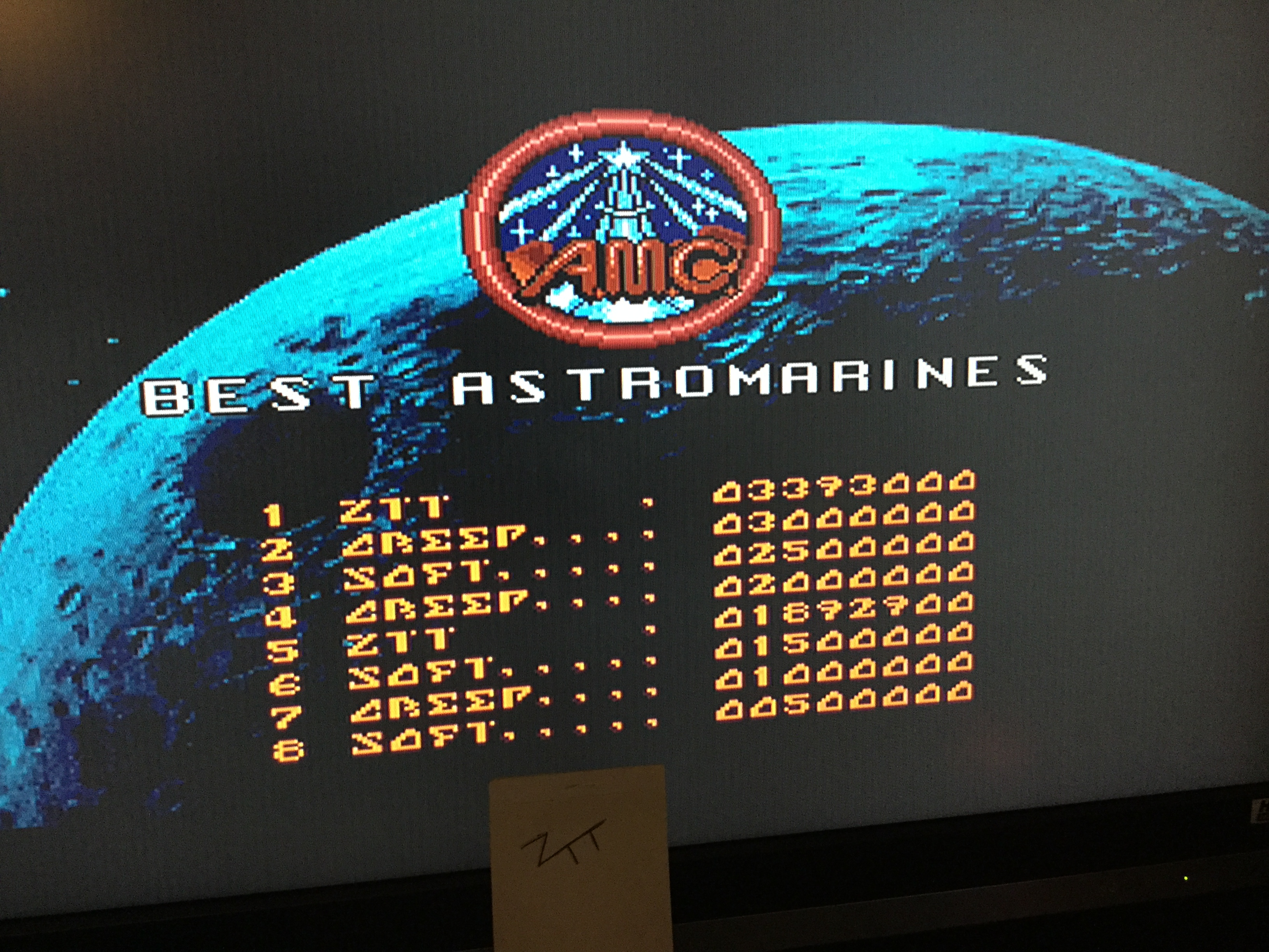 Frankie: AMC: Astro Marine Corps [No Point Pressing Allowed] (Amiga) 3,393,000 points on 2017-10-07 11:30:45