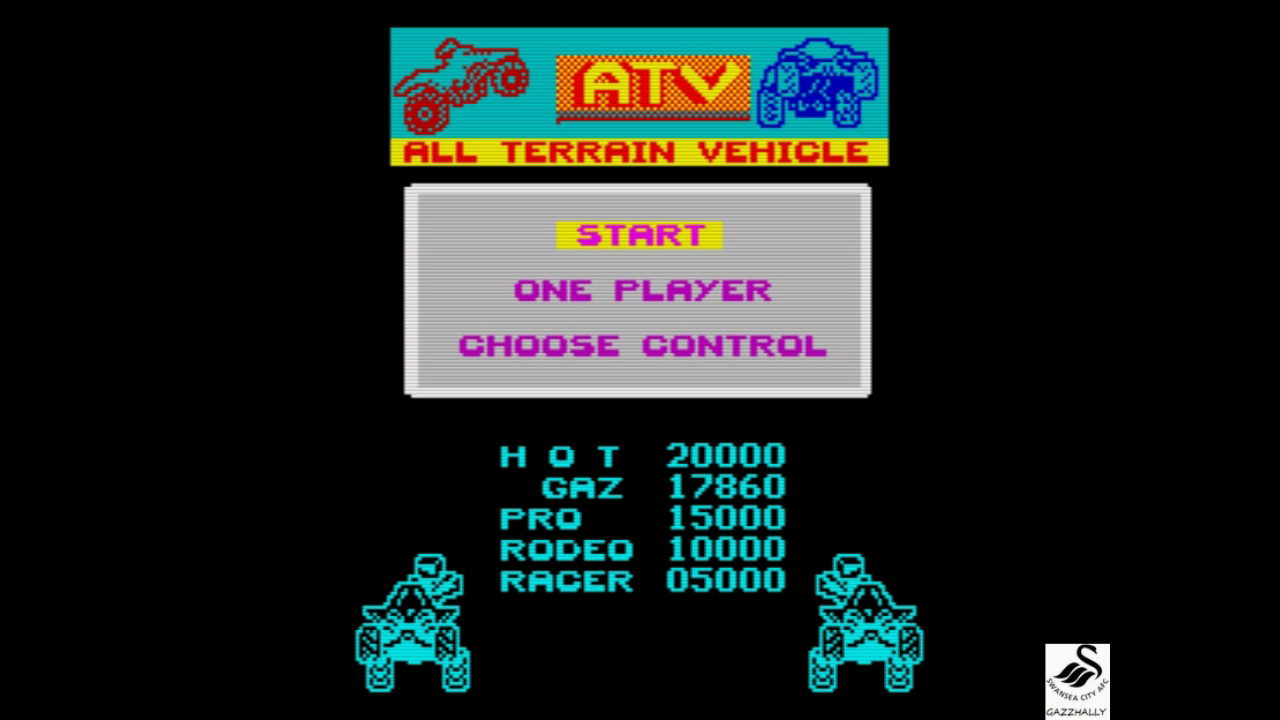 gazzhally: ATV Simulator (ZX Spectrum Emulated) 17,860 points on 2017-07-23 07:37:38